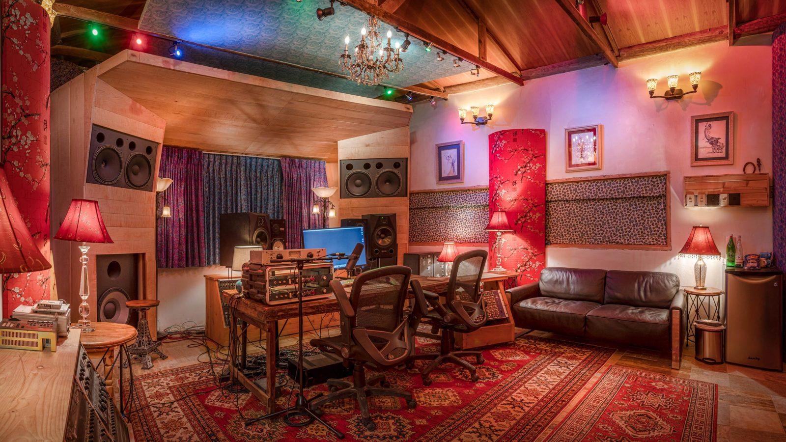 Studio Adobe Bungalow from left