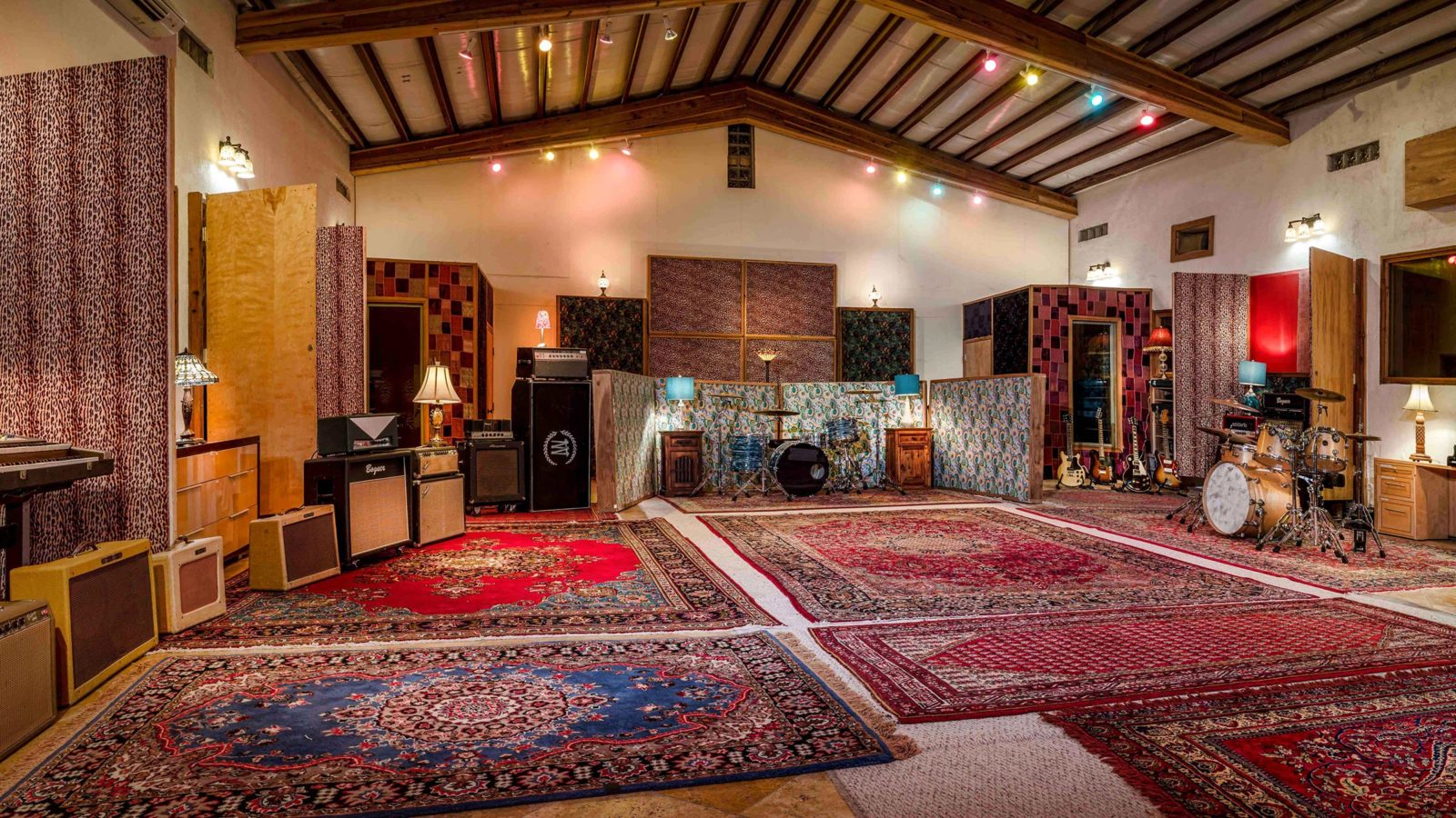 Studio Neve - Tracking Room from left